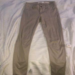 Low rise super skinny cargo pants (women)